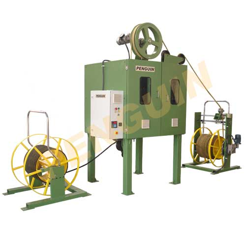 High speed wire braiding machine