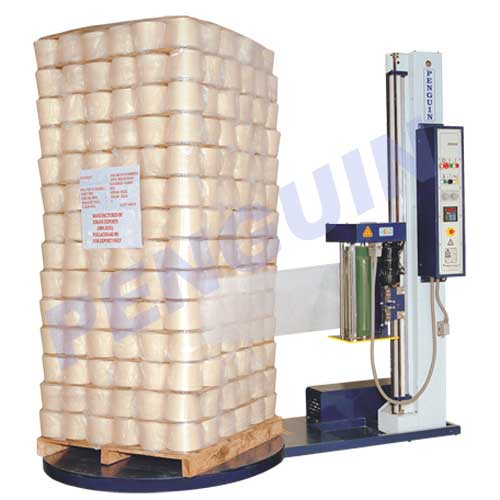 skid wrapping machine